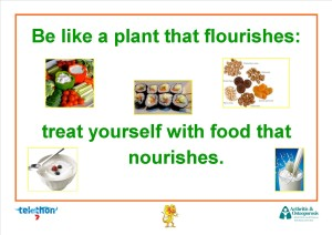 Be like a plant that flourishes