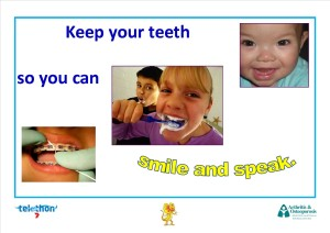 Keep your teeth so you can smile and speak