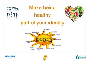 Make being healthy part of your identity