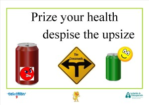 Prize your health despise the upsize