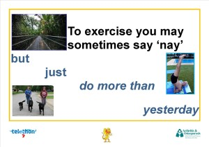 To exercise you may sometimes say nay