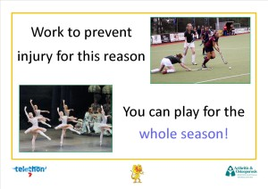 Work to prevent injury